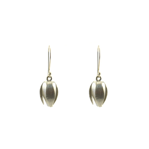 Tulip Sterling Silver Earrings