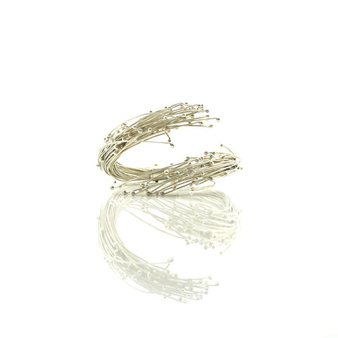 Anthers Sterling Silver Bangle