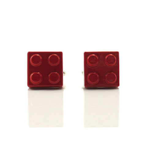 Lego Red Cufflinks