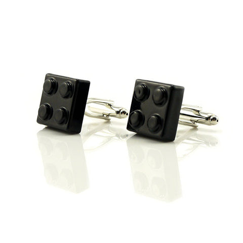 Lego Black Cufflinks