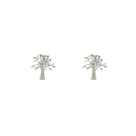 Banyan Tree Sterling Silver Studs