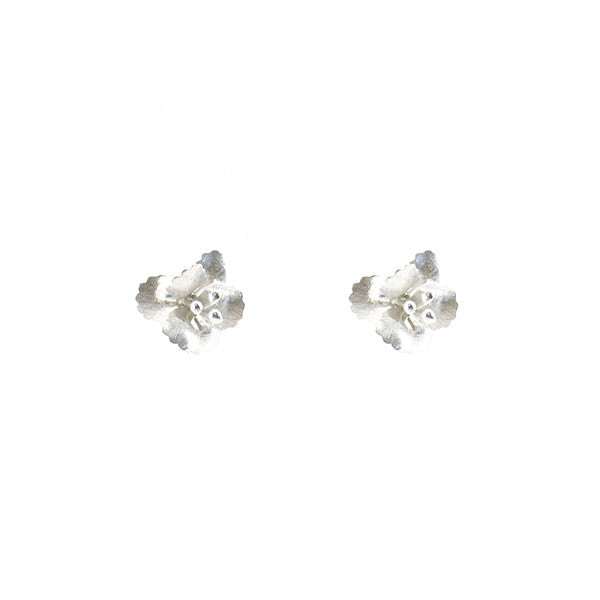 Eschscholzia Sterling Silver Studs