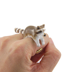 Raccoon 2 Pieces Set Ring