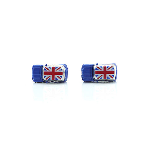 Mini Cooper Blue Cufflinks