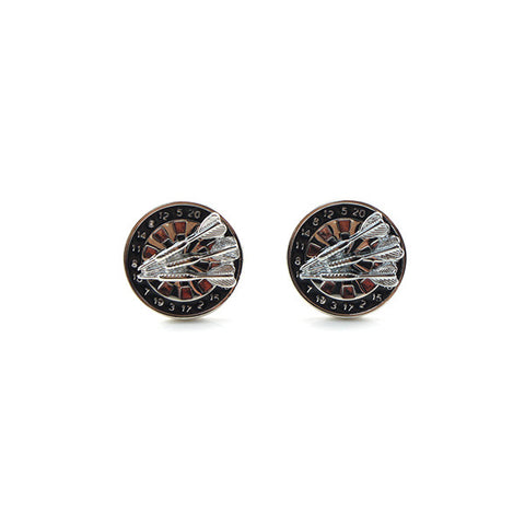 Darts & Darts Board Cufflinks