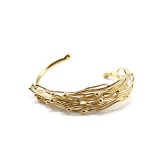 Narrow Nest Gold Bangle