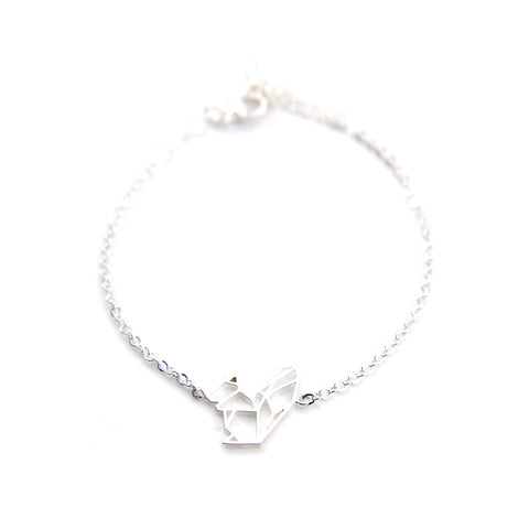 Squirrel Silver Bracelet