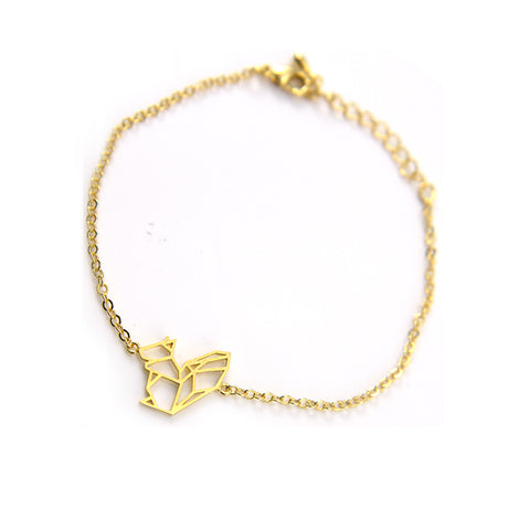 Squirrel Gold Bracelet