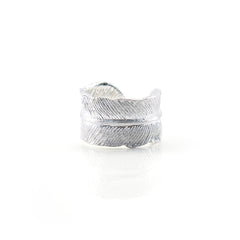 Feather Wrap Sterling Silver Ring