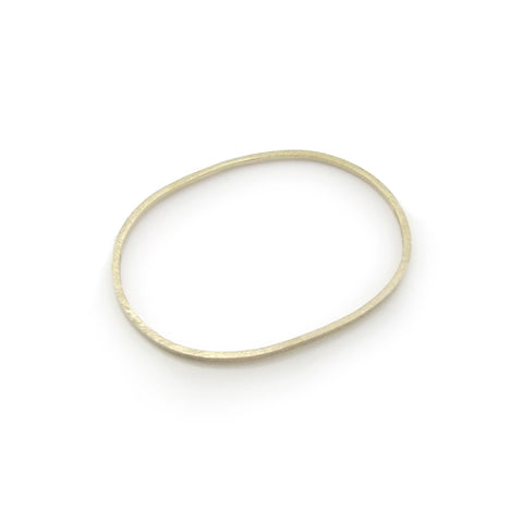 Loose Circle Gold Bangle