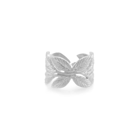 Butterfly Leaf Sterling Sliver Ring