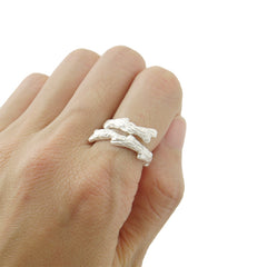 Branches Sterling Sliver Ring