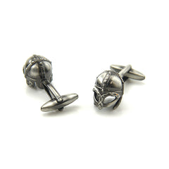 Soldier Helmet Black Cufflinks
