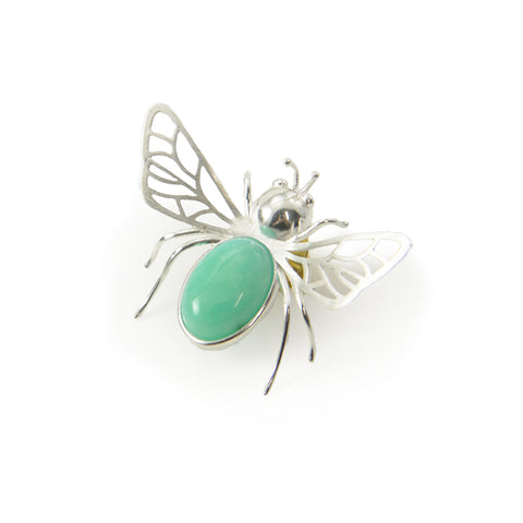 Bug Sterling Sliver Brooch
