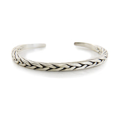 The Pointy (Thin Version) Sterling Silver Bangle