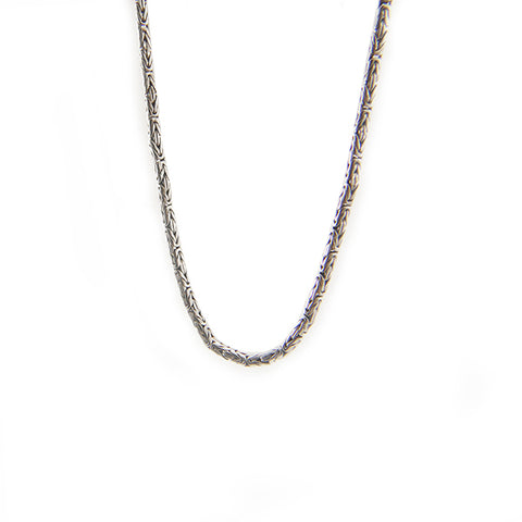 Byzantine Sterling Silver Necklace