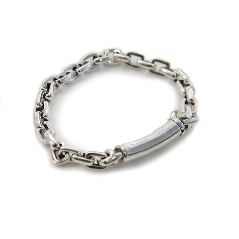 Bulk Cable Chain Sterling Silver Bracelet