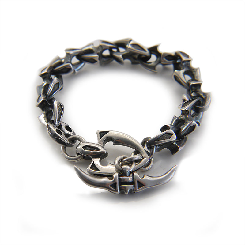 Anchor Sterling Sliver Bracelet