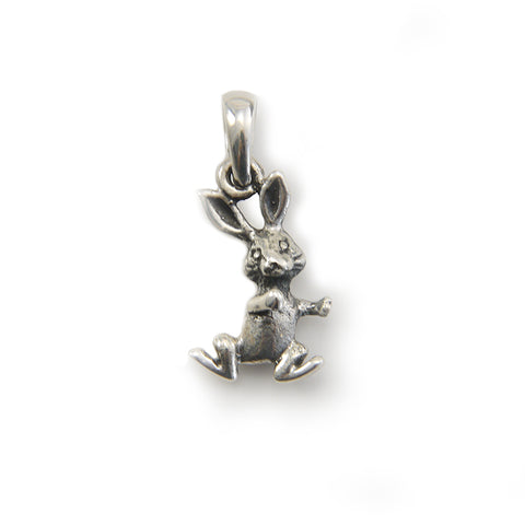 Bunny Sterling Silver Charm