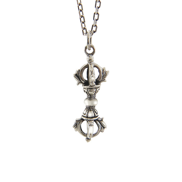 Magic Column (Large Size) Sterling Silver Necklace