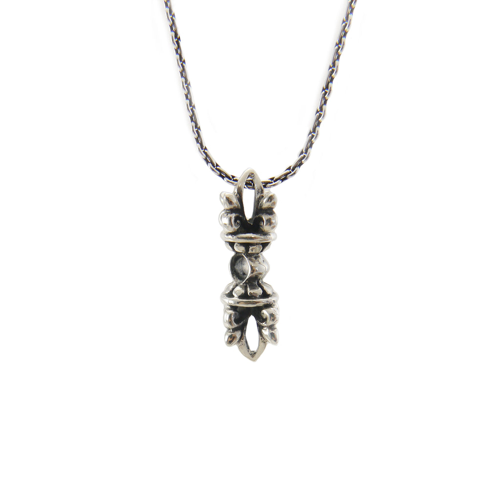 Magic Column (Small Size) Sterling Silver Necklace