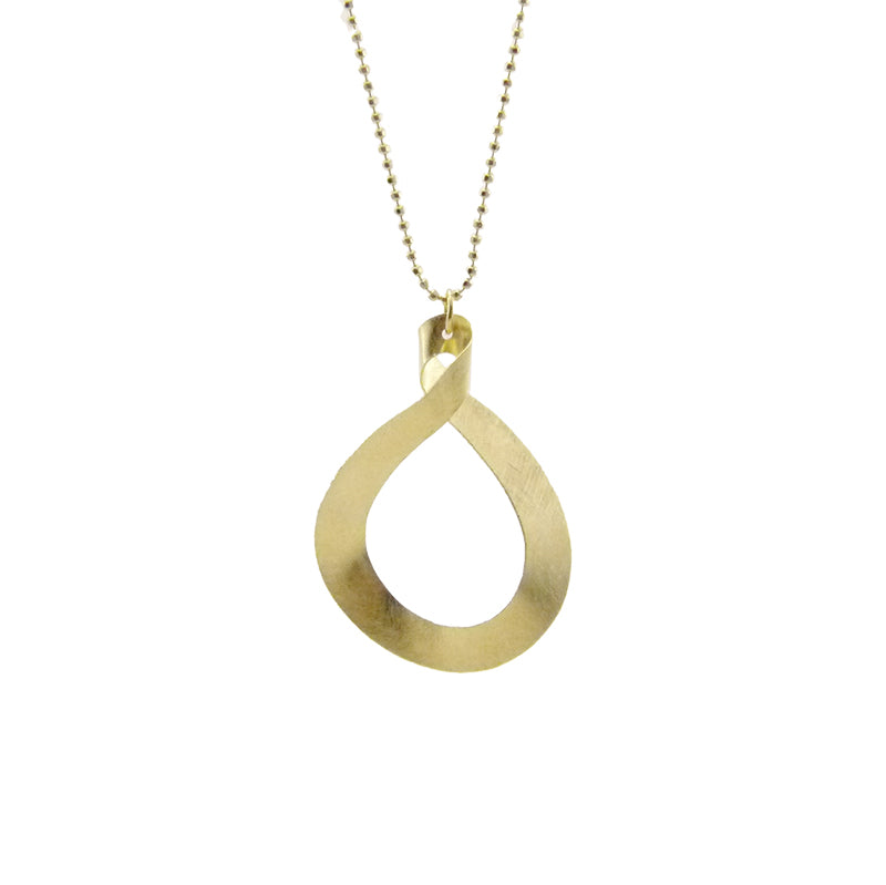 Figure 8 Gold Sterling Silver Long Necklace