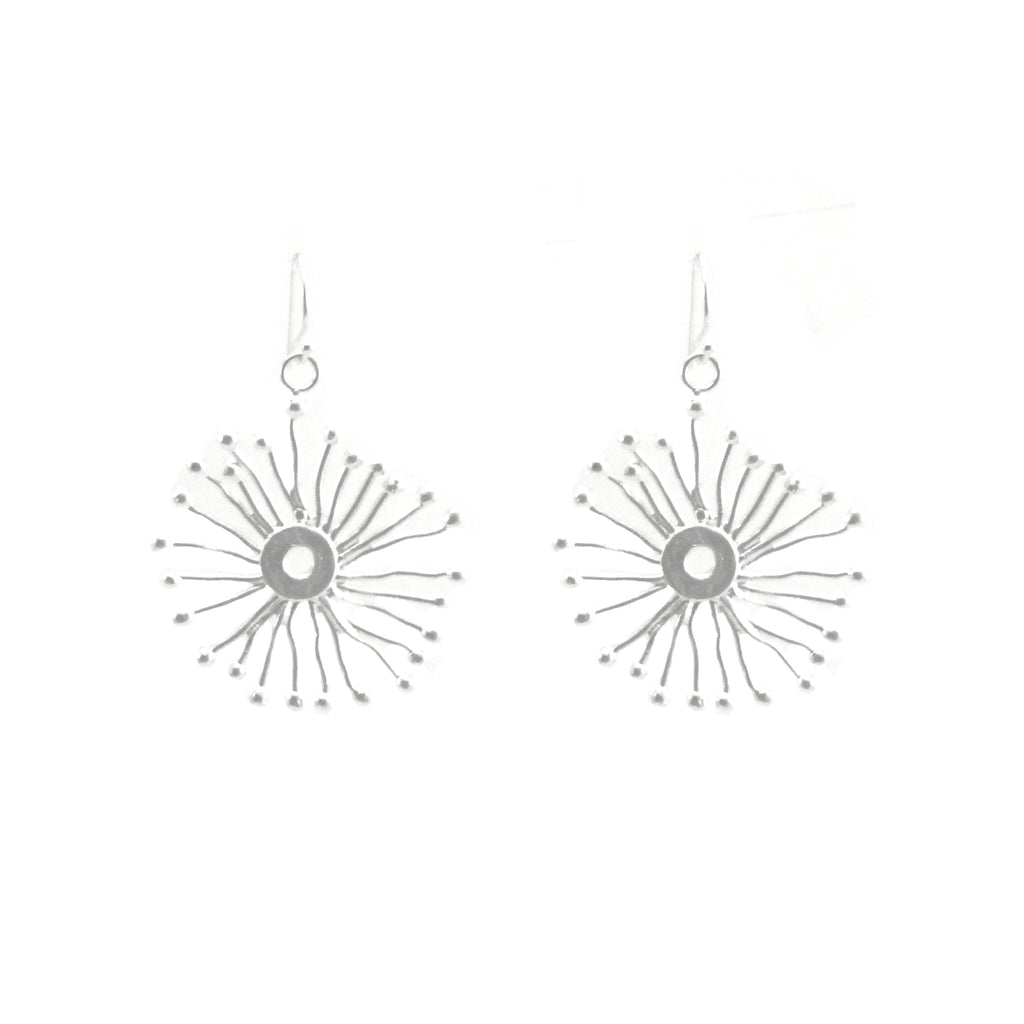 Spinning Sparkle Sliver (Medium Size) Earrings
