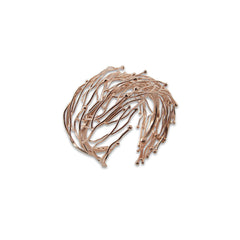 Big Nest Rose Gold Bangle