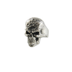 Big skull head Sterling Silver Ring