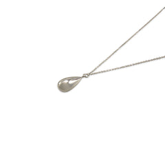 3D Waterdrop Sterling Silver Necklace