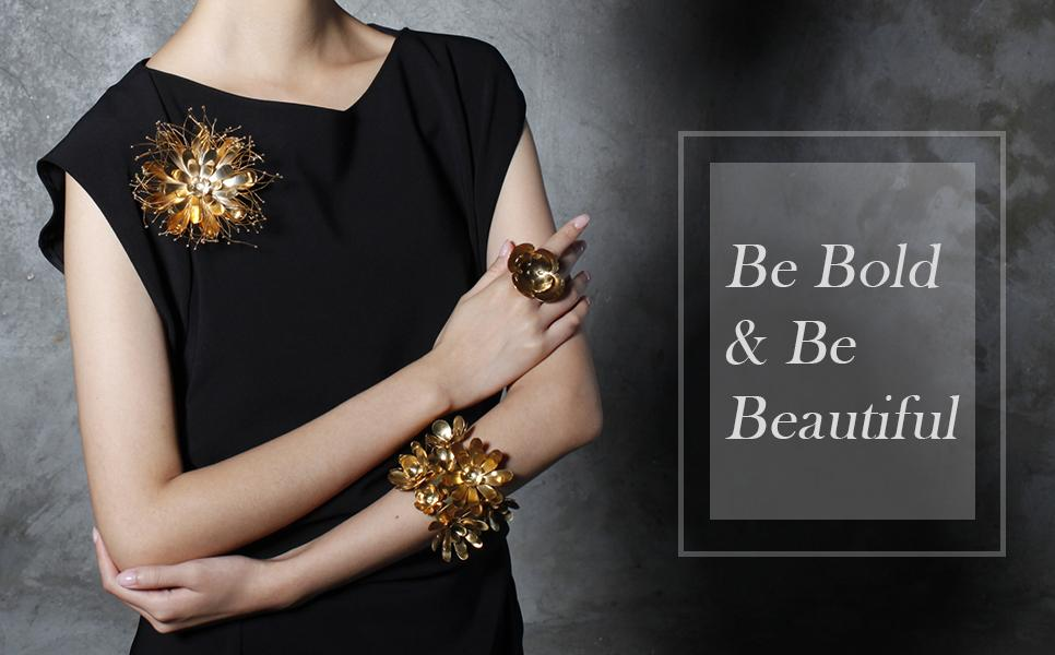 Shop Bangle & Brooch Collection