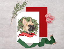 Load image into Gallery viewer, Frenchie Holiday Card Set