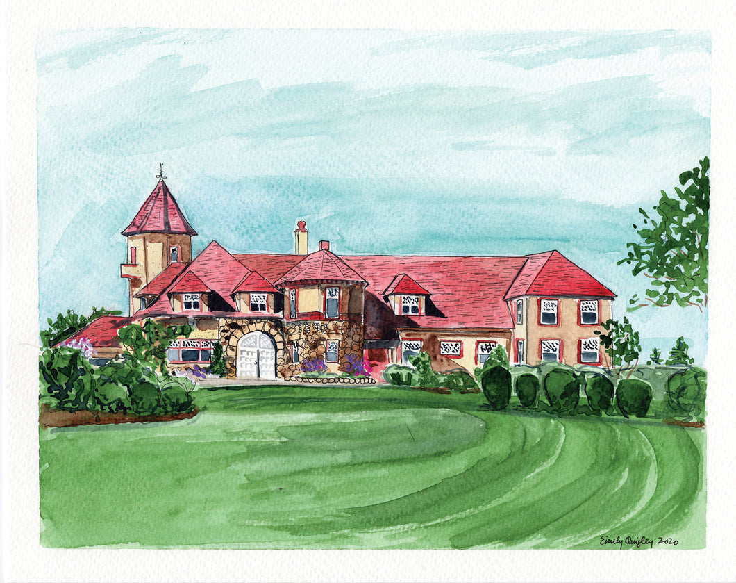Ocean Edge Resort Carriage House Print