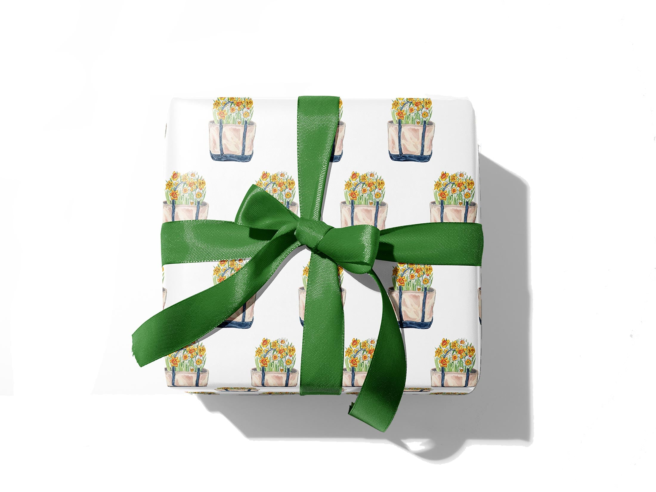 Daffodil Tote Gift Wrap Sheets