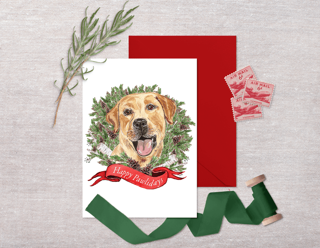 Labrador Holiday Card Set