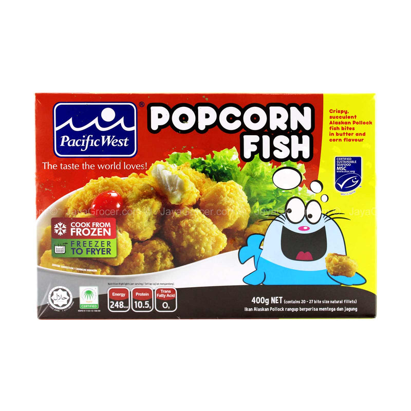 Pacific West Popcorn Fish 400g