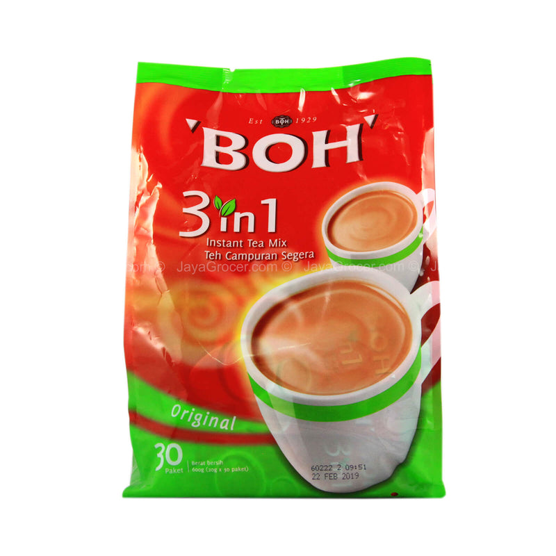 Boh 3-in-1 Instant Tea Mix 30 sachets