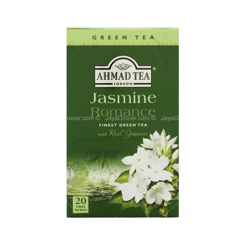 Ahmad Tea London Jasmine Romance Green Tea 40g