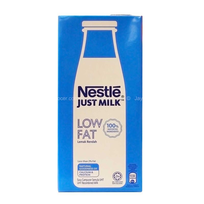 Nestle Low Fat UHT Recombined Milk 1L