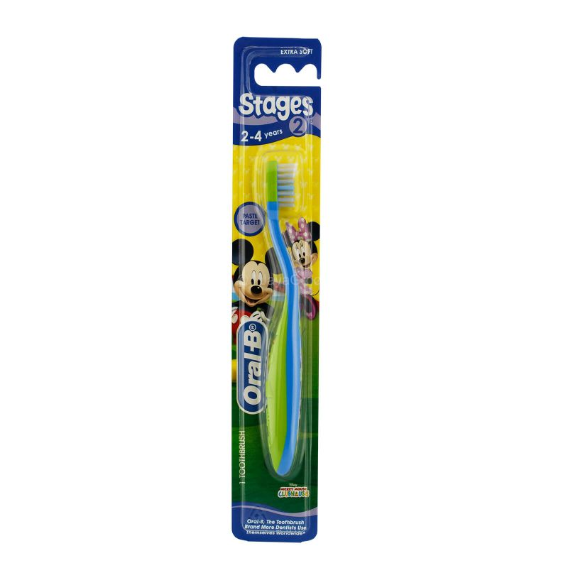 Oral-B Stages 2 Kids Toothbrush 1pc