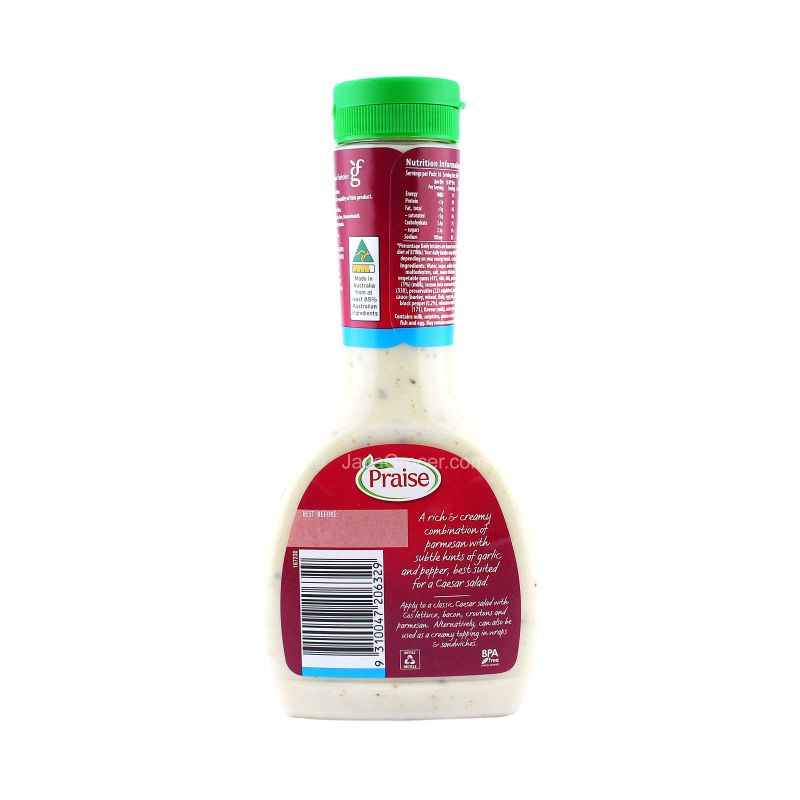 Praise Caesar Dressing 99% Fat Free 330ml