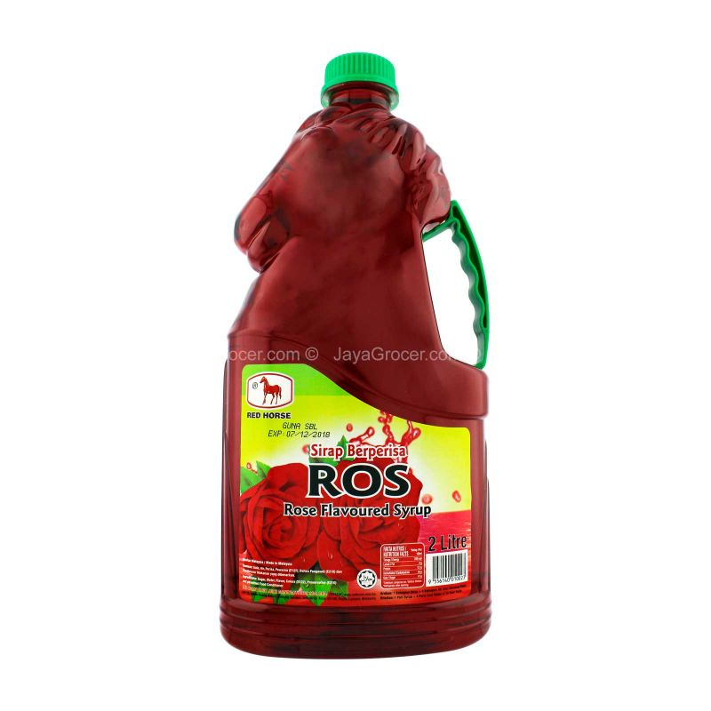 Red Horse Rose Flavoured Syrup Drink 2L