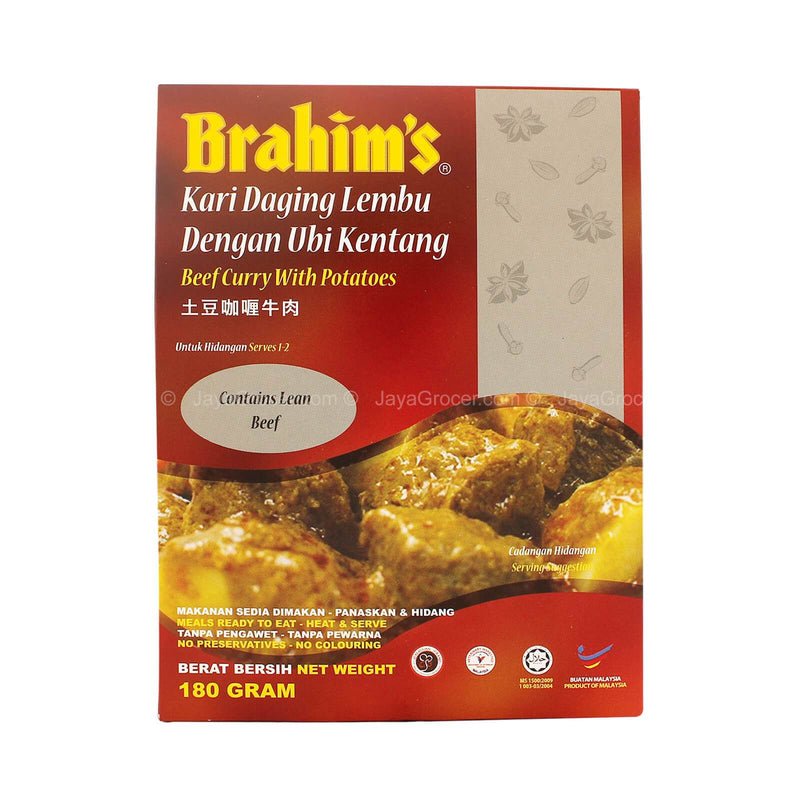 Brahim's Beef Curry with Potatoes 180g