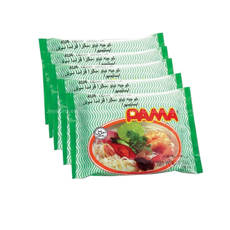 PAMA Clear Soup Flavor Instant Kueh Teow 55g x 5