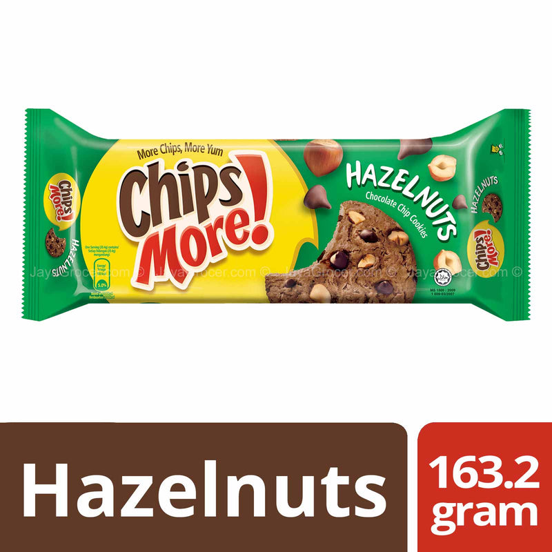 Chipsmore Hazelnuts Chocolate Chip Cookies 163.2g