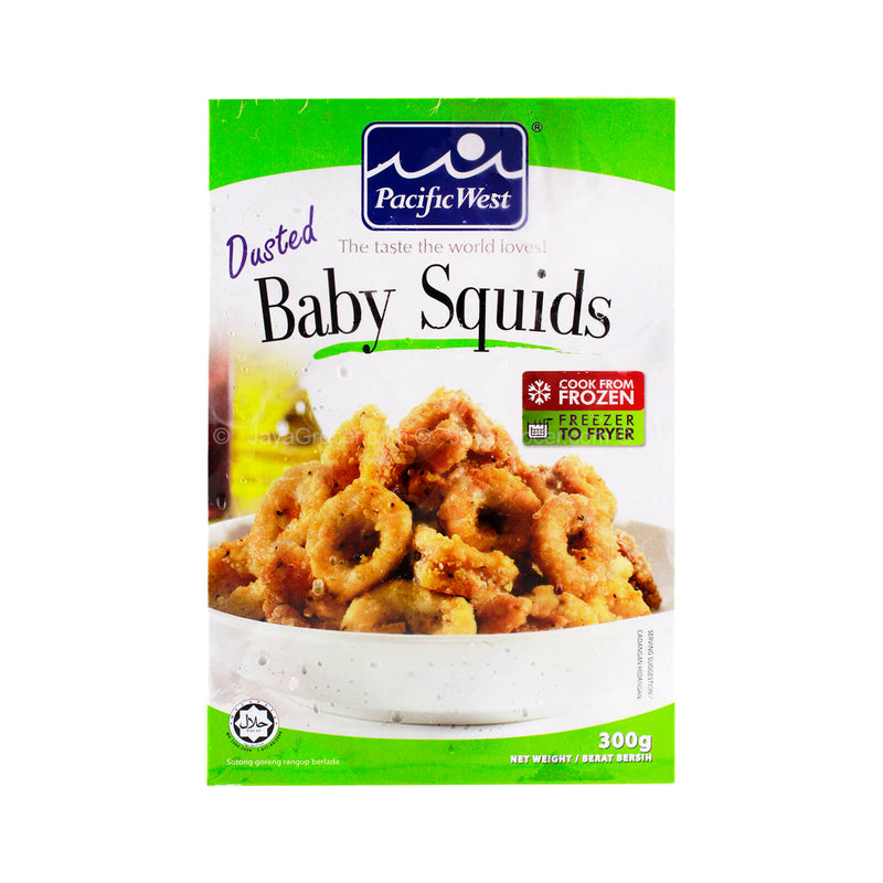 Pacific West Dusted Baby Squids 300g