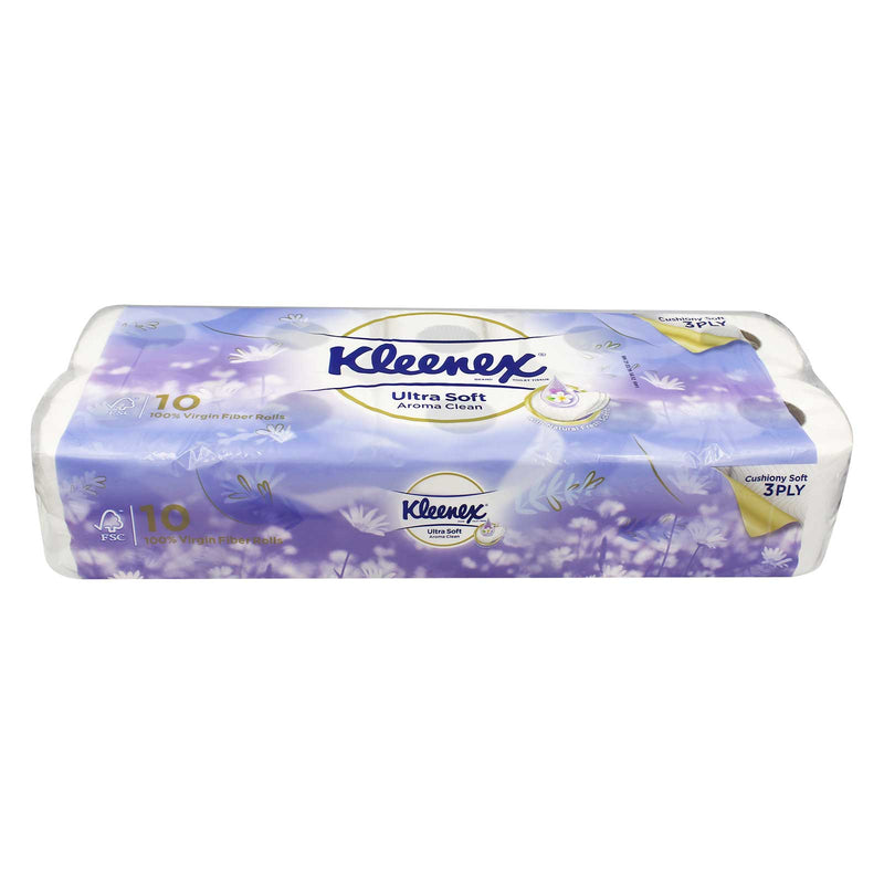 Kleenex Ultra Soft Aroma Clean Toilet Tissue (3ply) 10rolls