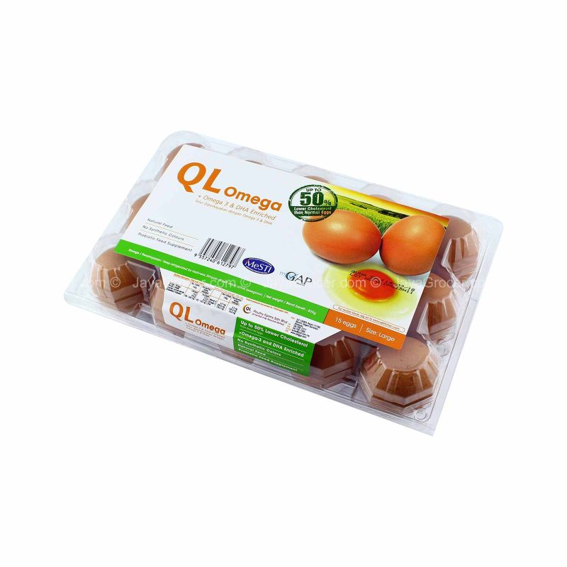 QL Omega Eggs with Omega 3 and DHA Grade A 15pcs