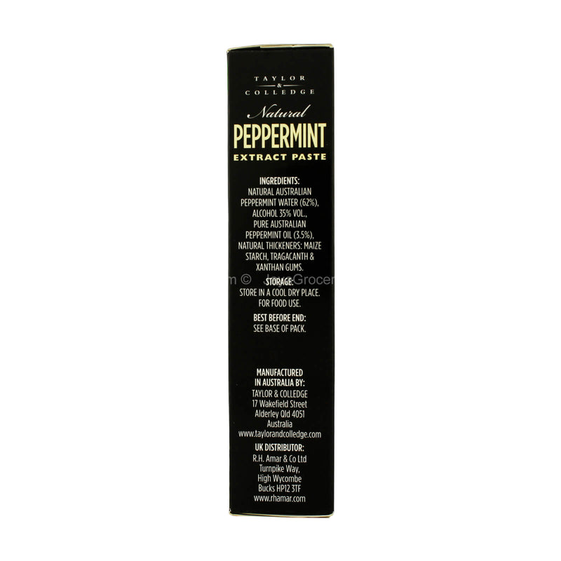Taylor and Colledge Natural Peppermint Extract Paste 40g