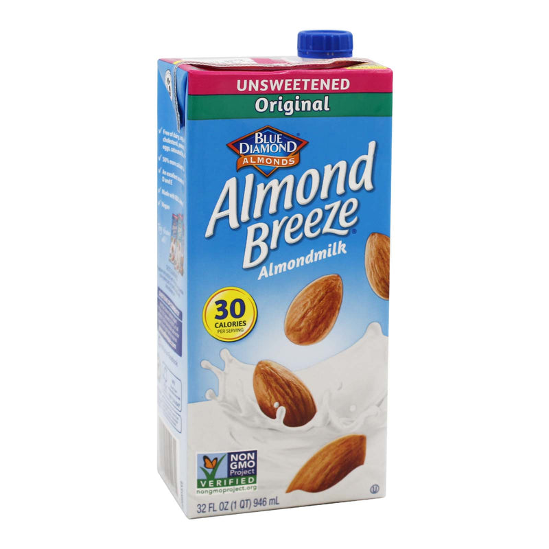 Blue Diamond Unsweetened Original Almond Milk 946ml